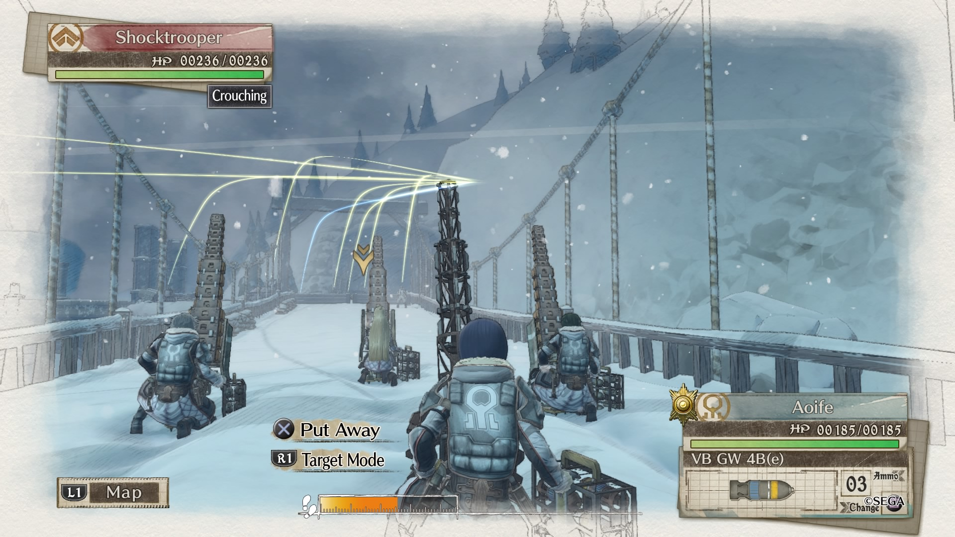 Valkyria Chronicles 4 gameplay