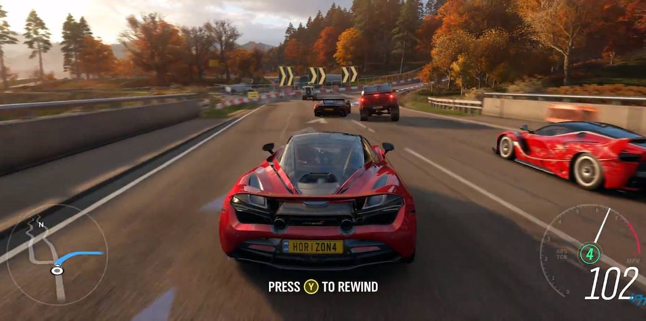 Forza Horizon 4 for MacBook OS X Version gameplay