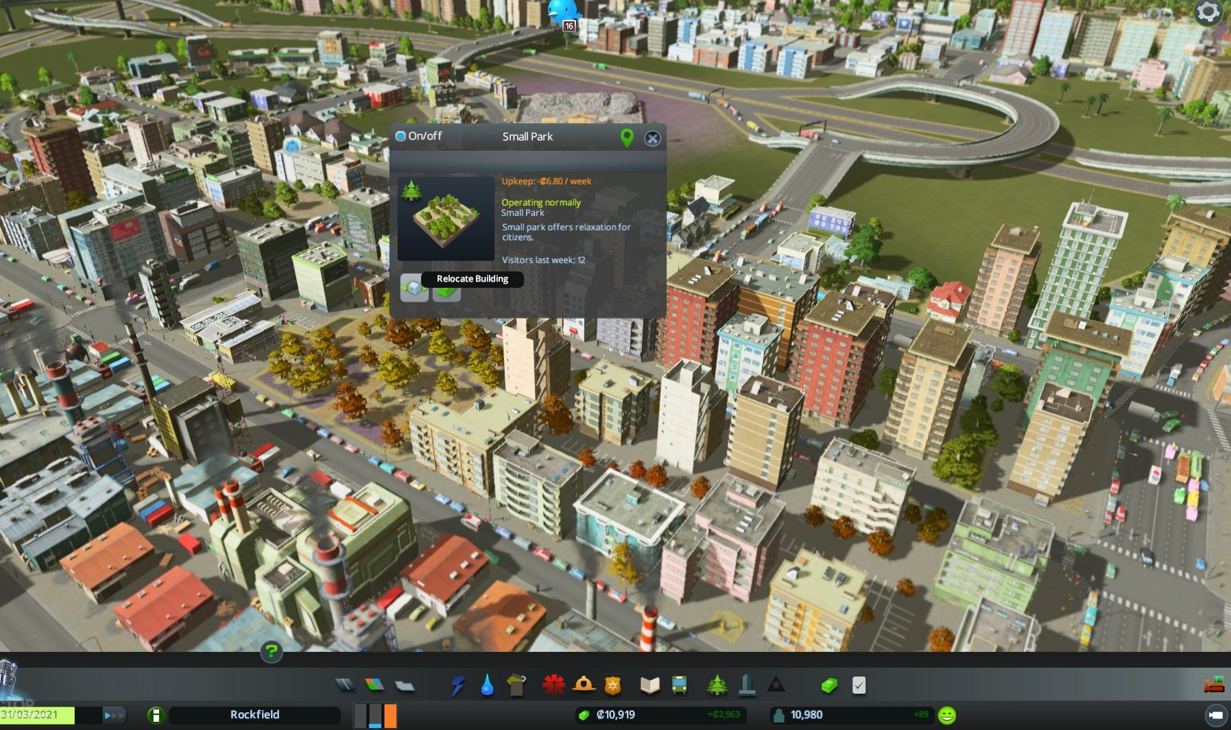Cities: Skylines MacBook OS X Version gameplay