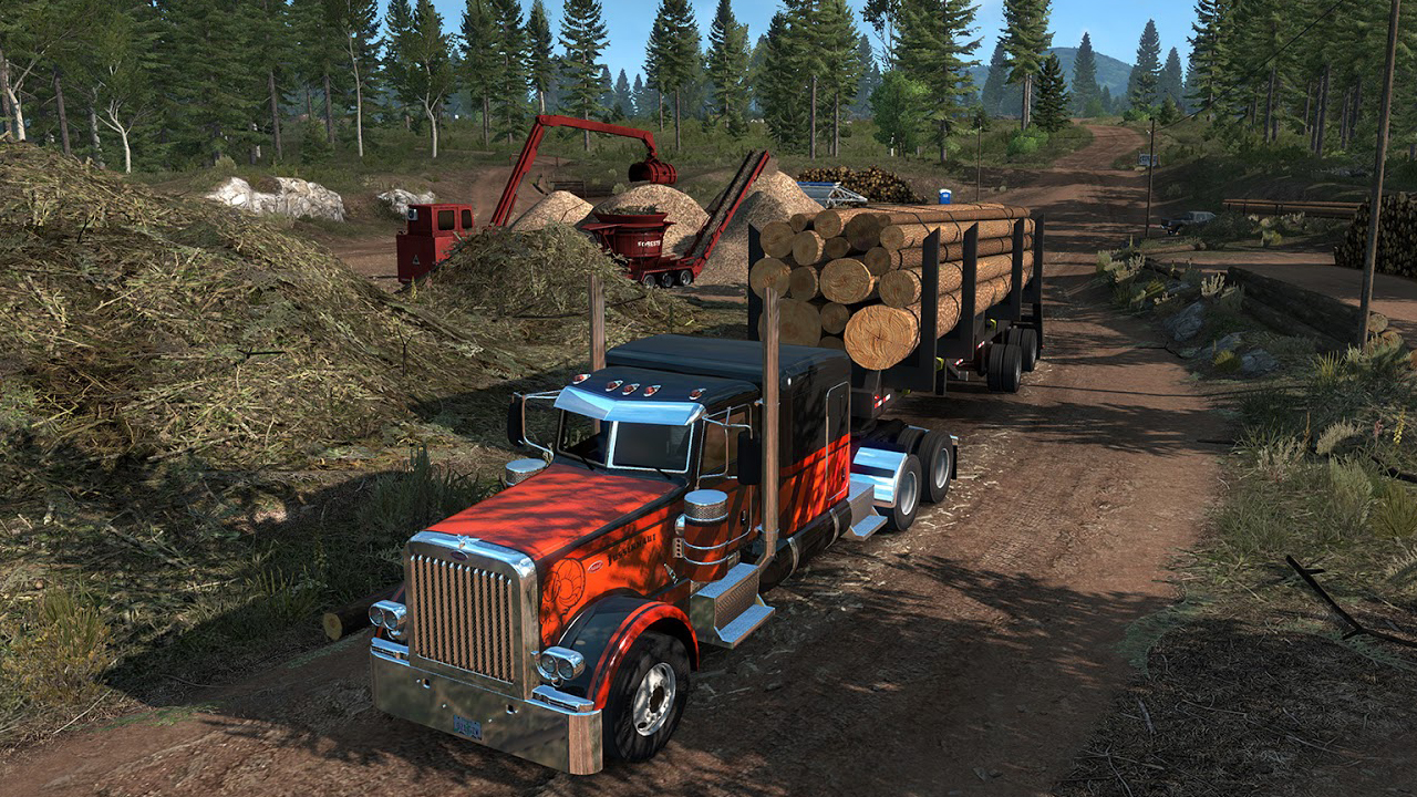 American Truck Simulator - Oregon for macOS gameplay