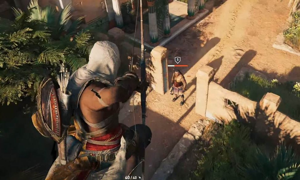 Assassin's Creed Origins MacBook Version gameplay