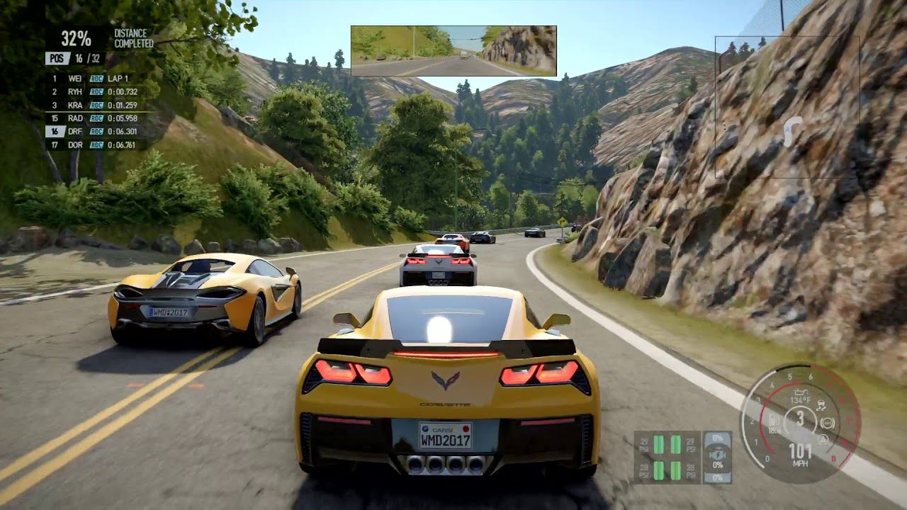 Project CARS 2 for macOS gameplay