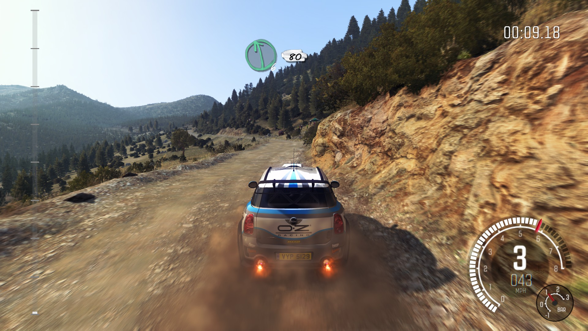 Dirt Rally MacBook Version gameplay