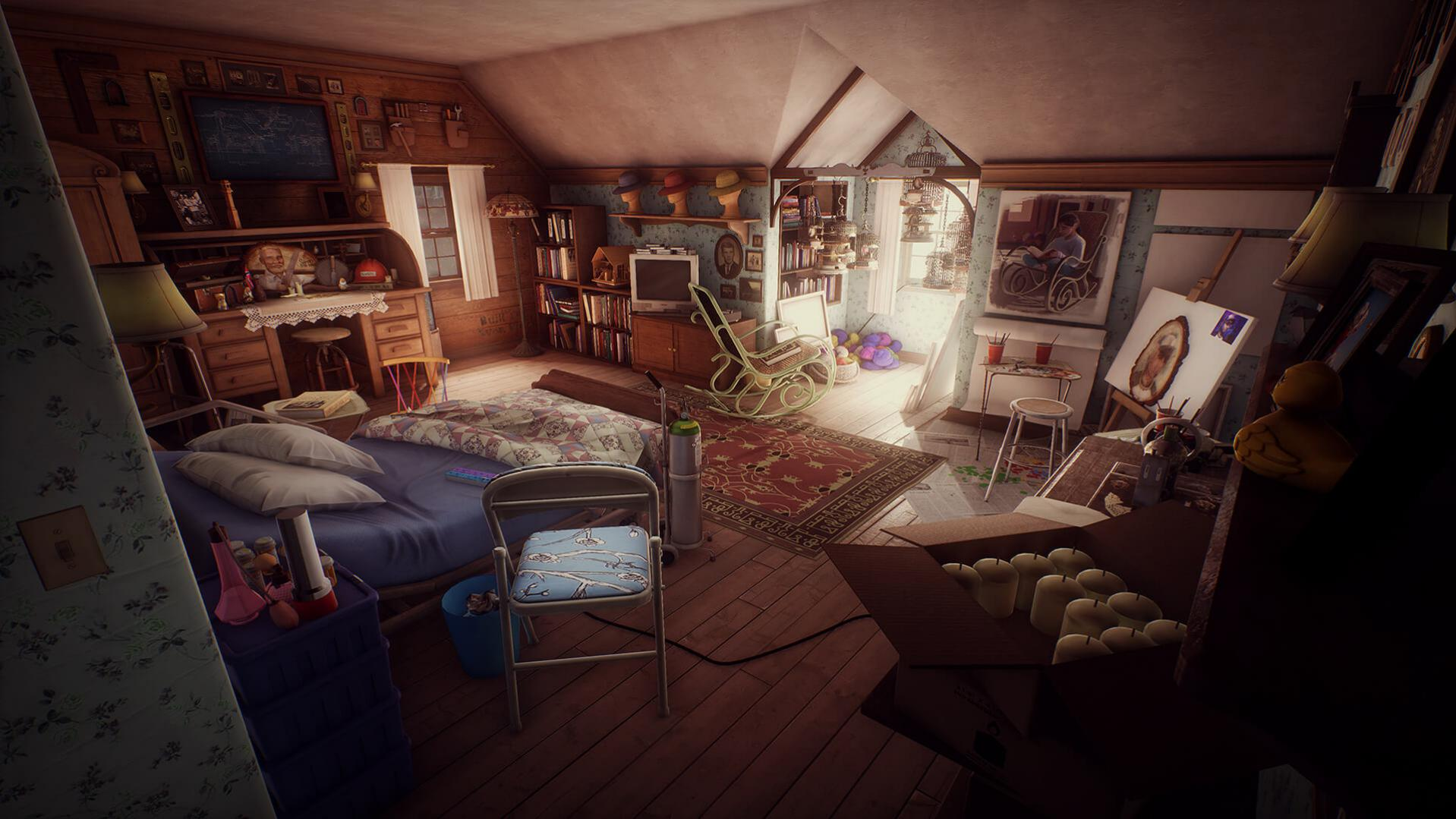 What Remains Of Edith Finch MacBook Version gameplay