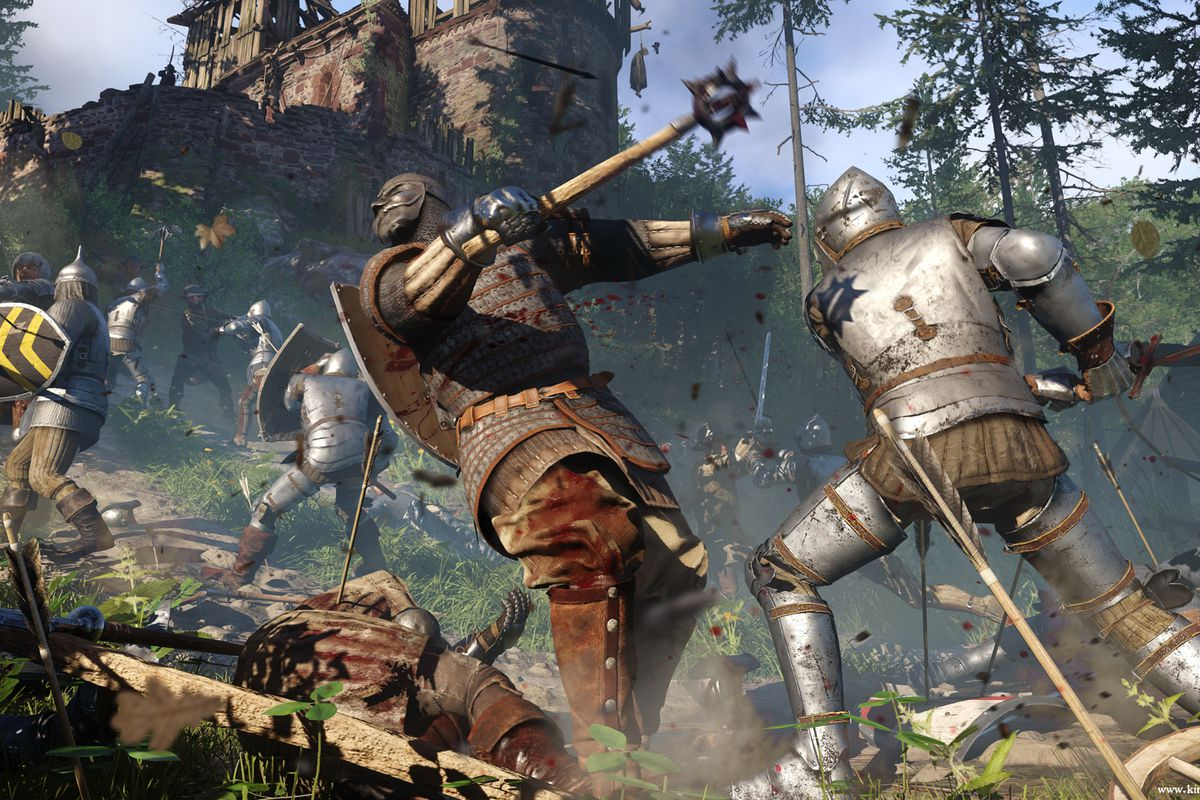 Kingdom Come: Deliverance MacBook OS X Version Gameplay