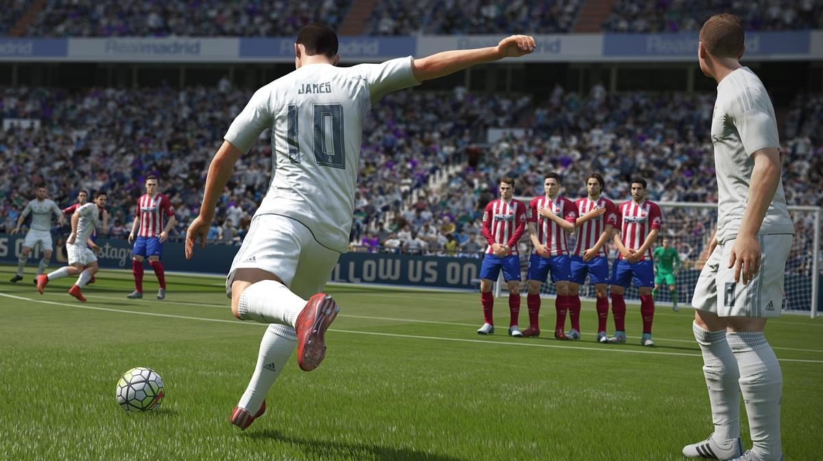 FIFA 16 for macOS gameplay