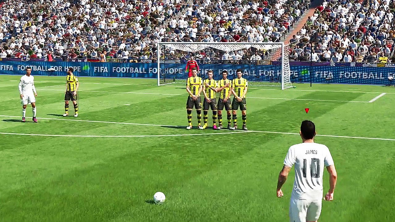 FIFA 17 for MacBook gameplay