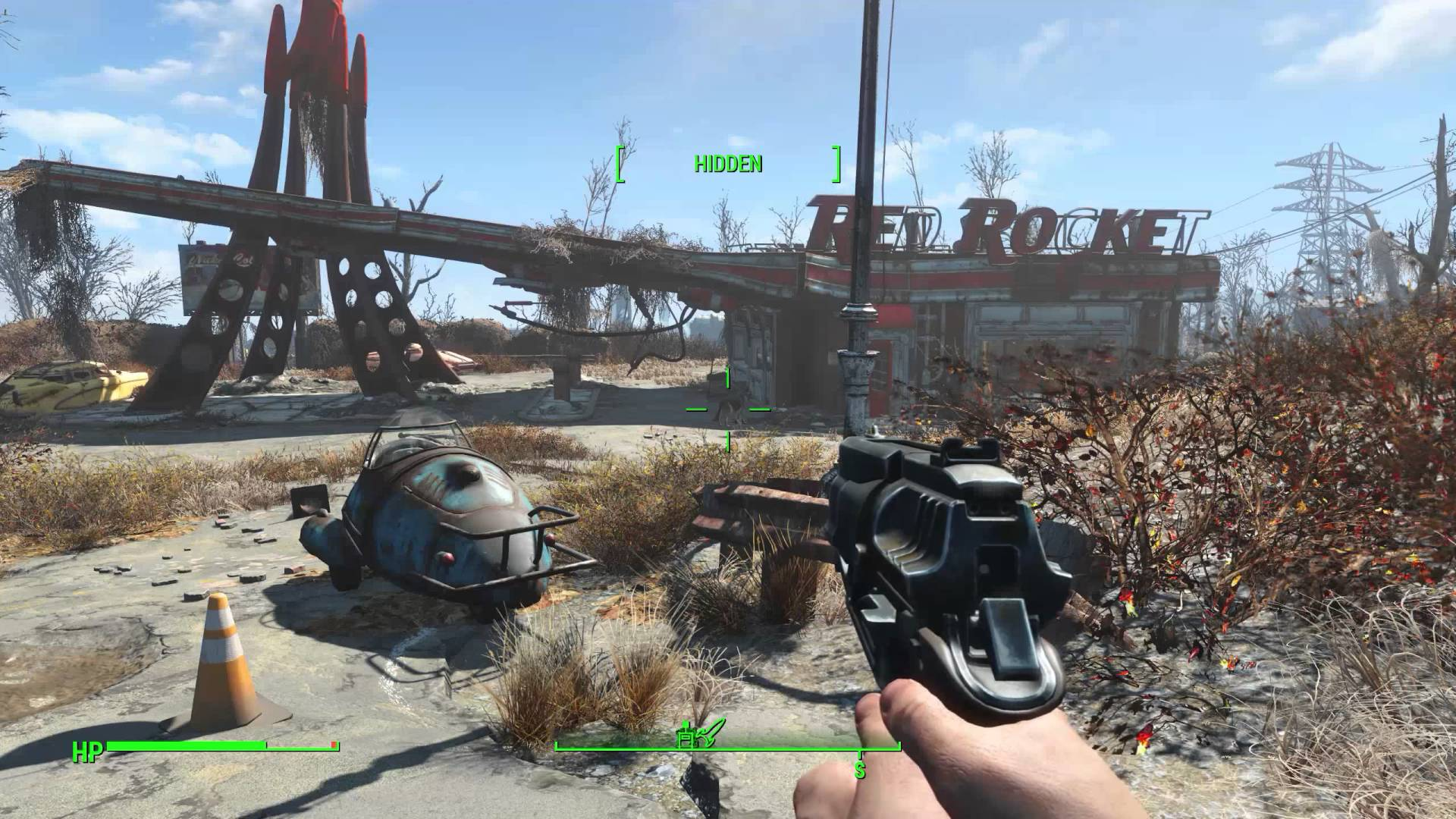 Fallout 4 for macOS gameplay