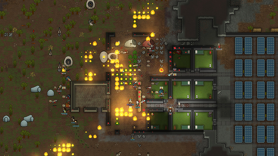 RimWorld MacBook Version gameplay