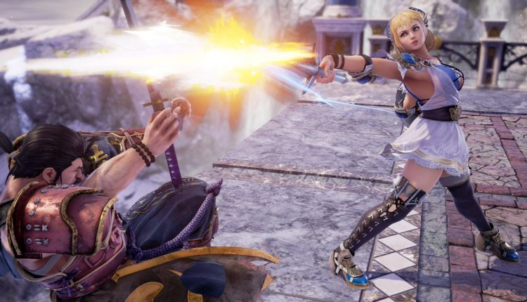 Soulcalibur VI MacBook OS X Version gameplay