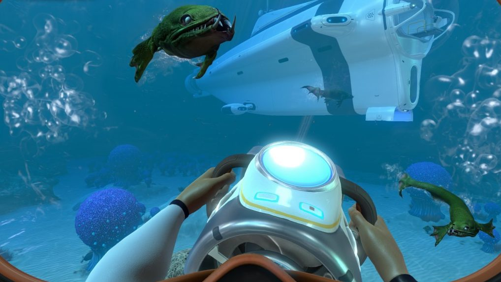 Subnautica for macOS gameplay