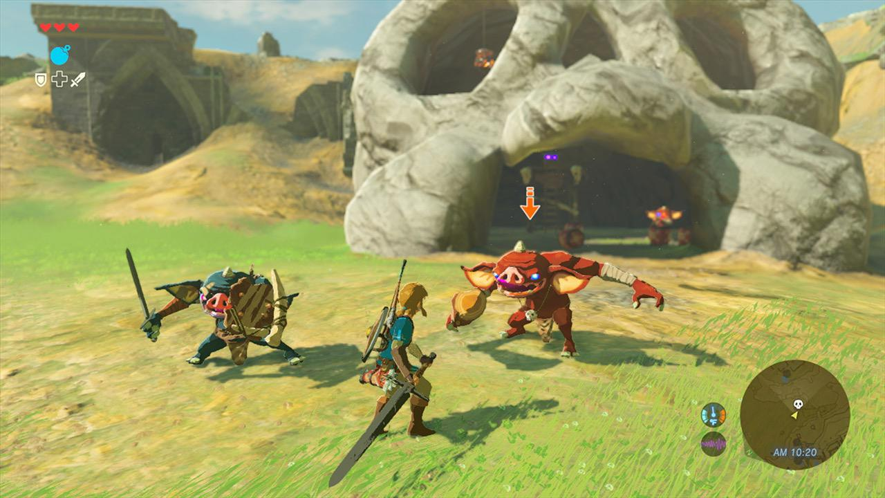The Legend of Zelda: Breath of the Wild for macOS gameplay