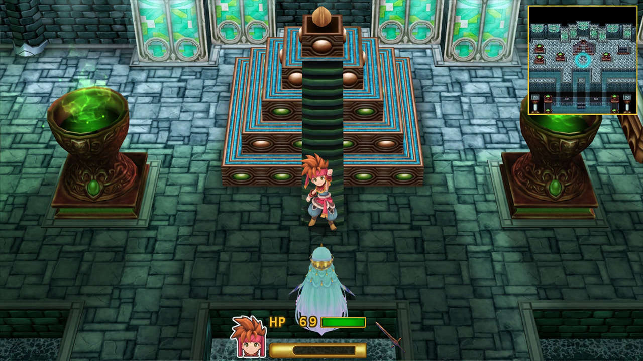 Secret of Mana MacBook OS X Version gameplay
