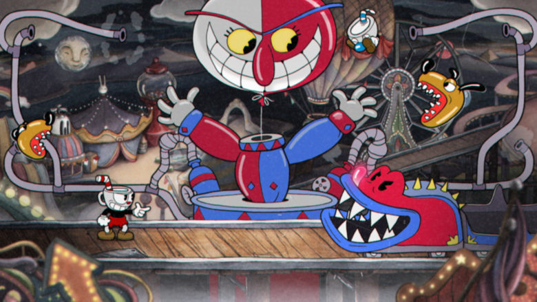 Cuphead for macOS gameplay