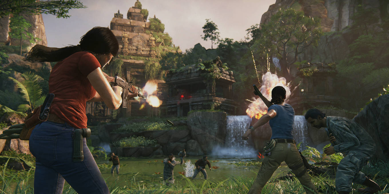 Uncharted: The Lost Legacy MacBook Version gameplay
