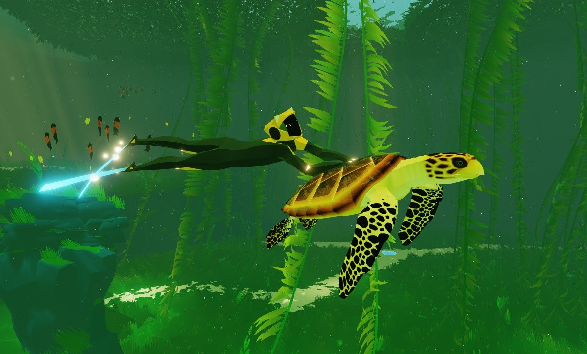 Abzu MacBook OS X Version gameplay