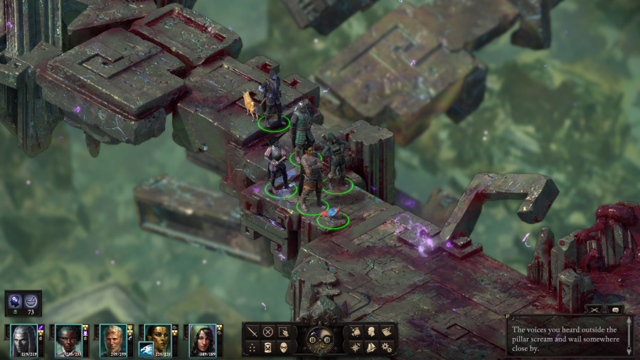 Pillars of Eternity II: Deadfire MacBook Version gameplay