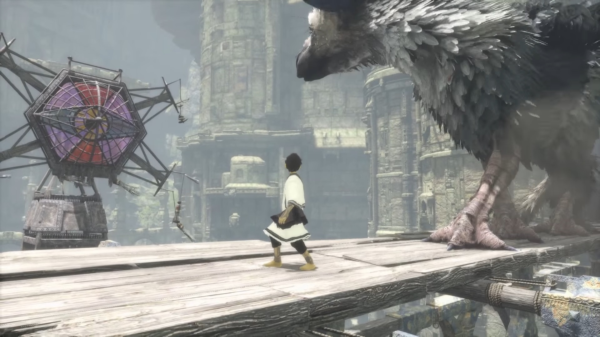 The Last Guardian MacBook Version gameplay