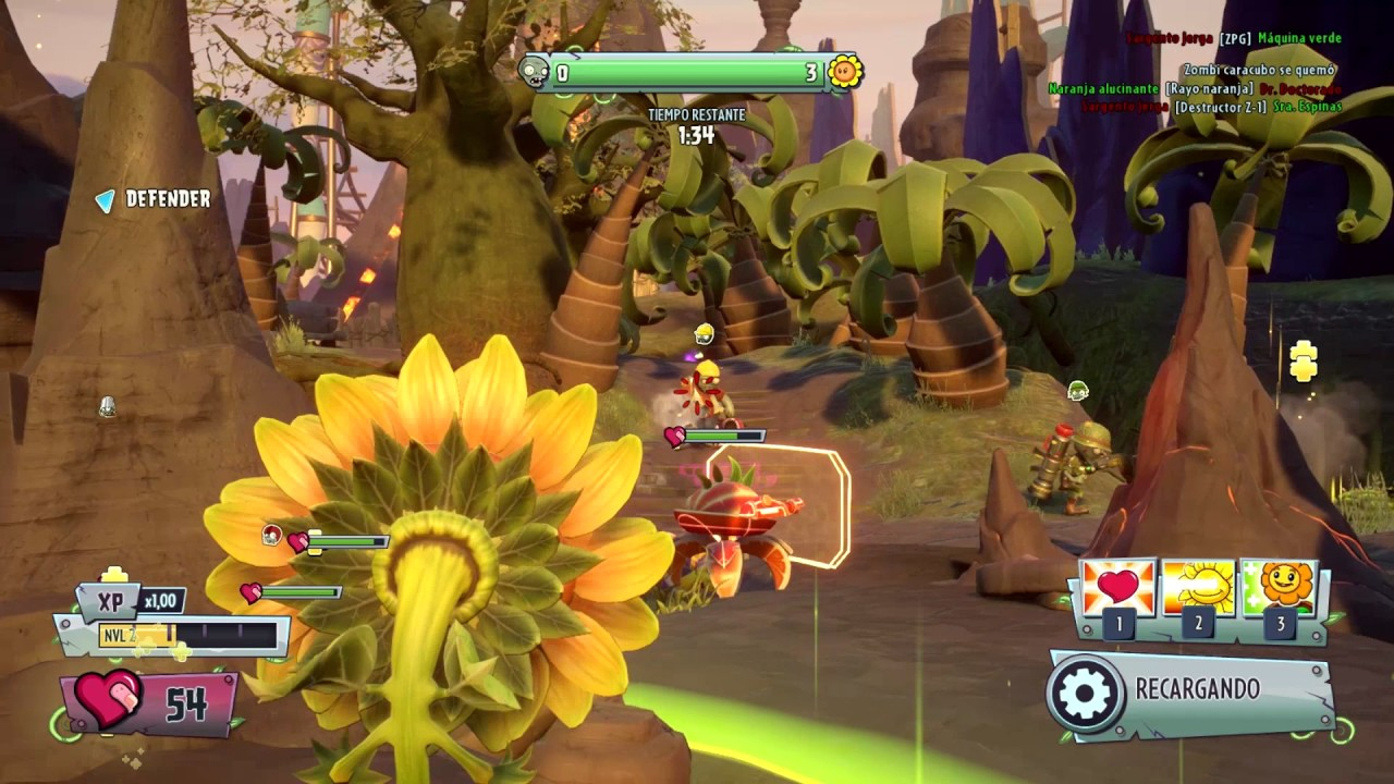 Plants vs. Zombies: Garden Warfare 2 for MacBook gameplay