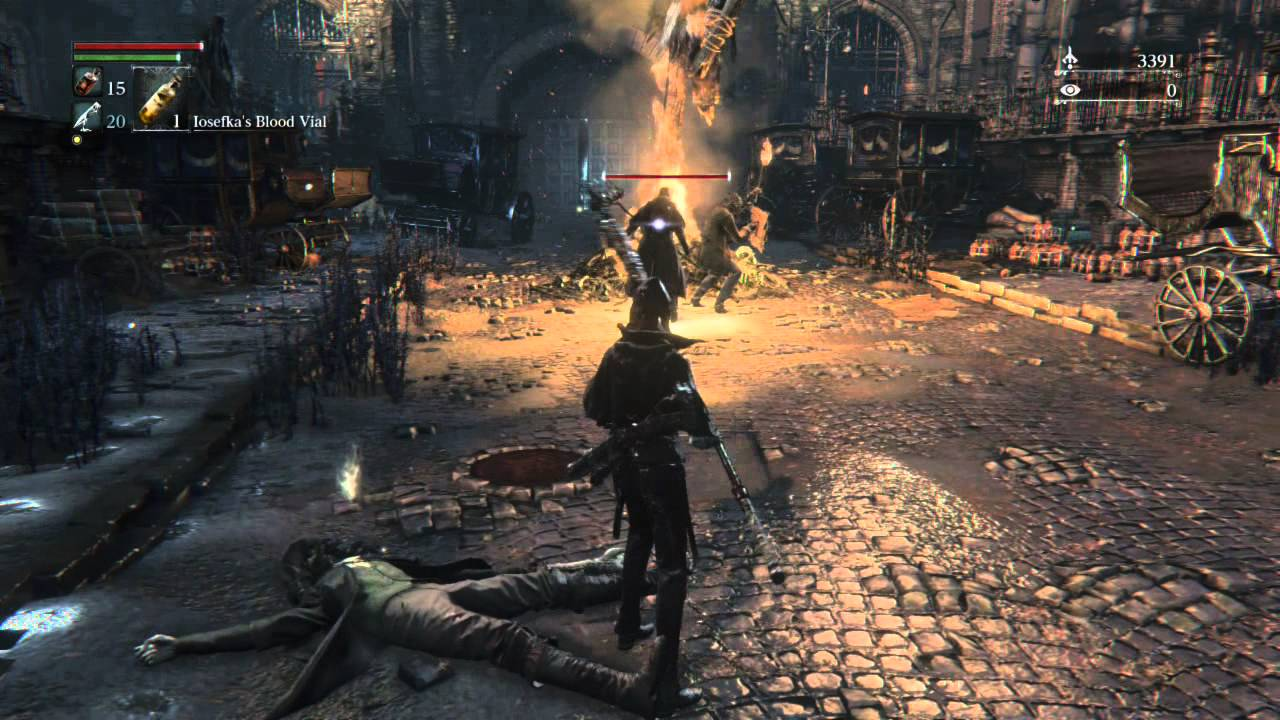 Bloodborne MacBook Version gameplay