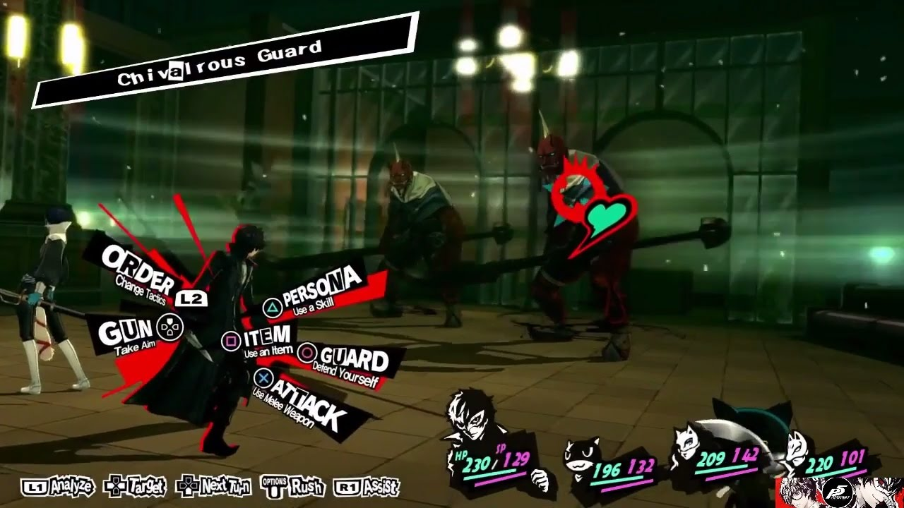 Persona 5 for MacBook gameplay