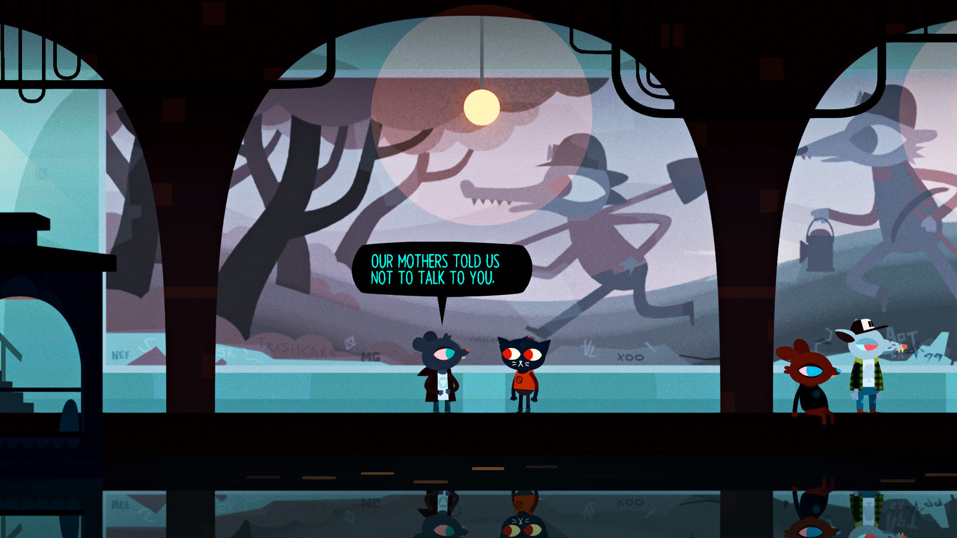 Night in the Woods MacBook OS X Version gameplay