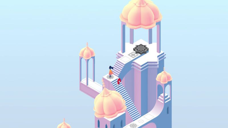 Monument Valley 2 MacBook Version gameplay