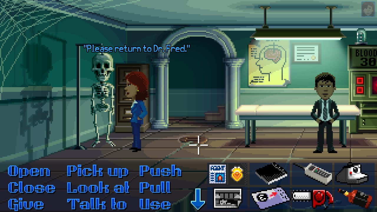 Thimbleweed Park for macOS gameplay
