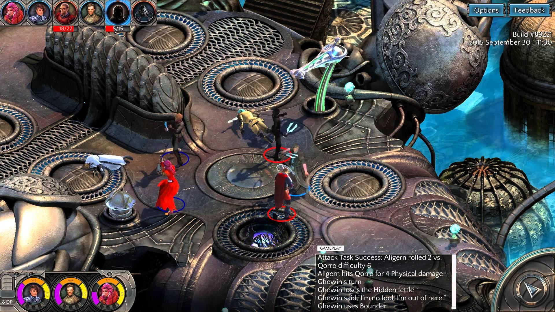 Torment: Tides of Numenera for macOS gameplay