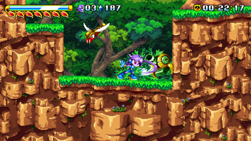 Freedom Planet MacBook OS X Version gameplay