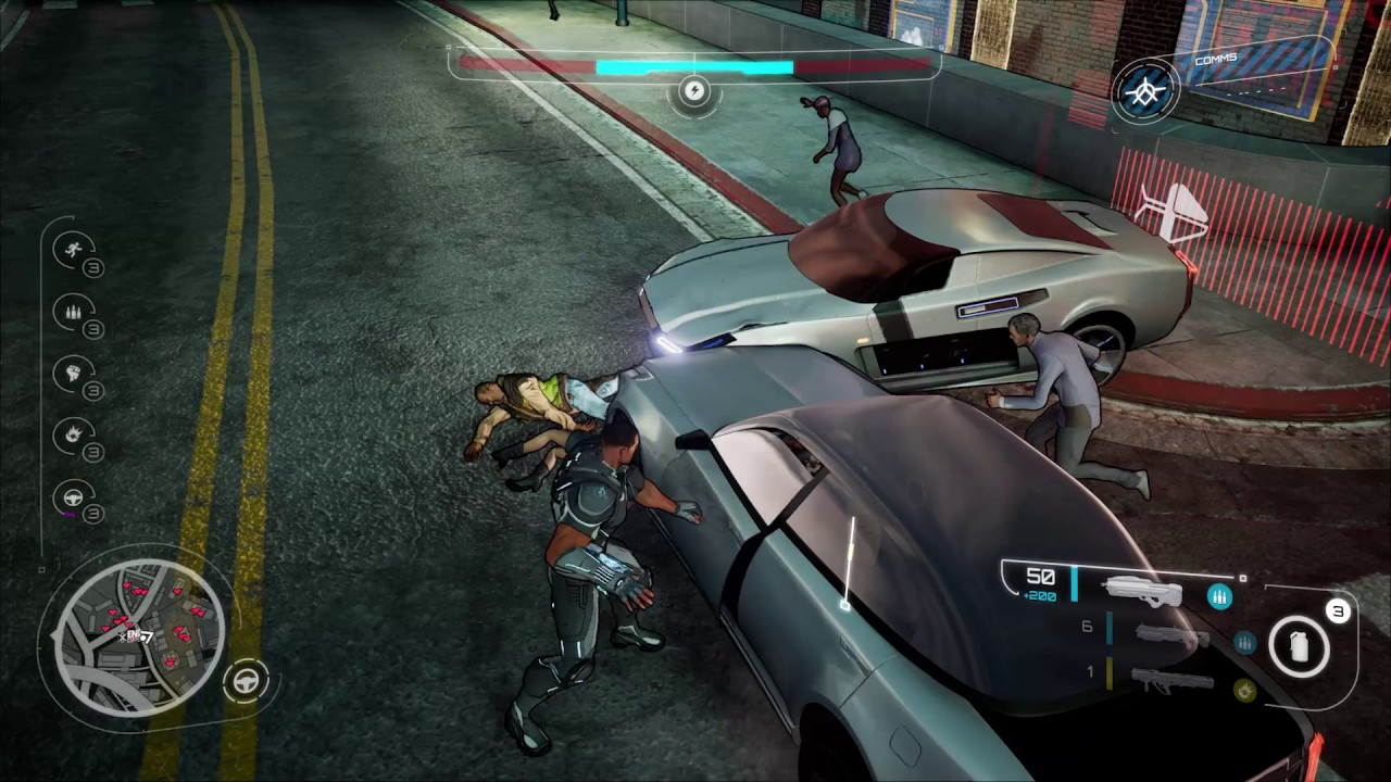 Crackdown 3 for MacBook gameplay
