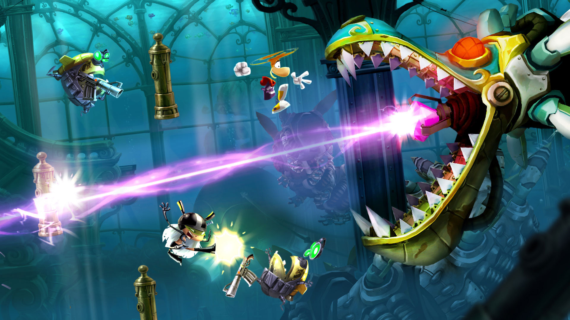 Rayman Legends MacBook OS X Version gameplay