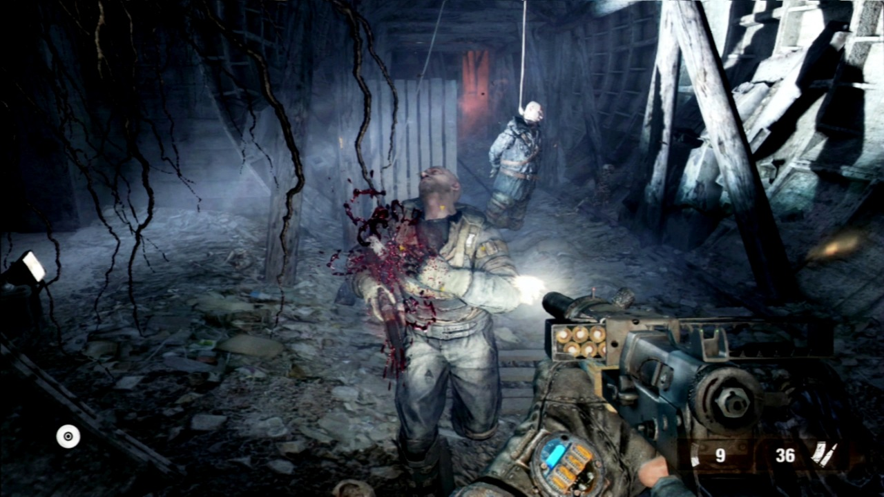 Metro: Last Light for MacBook gameplay