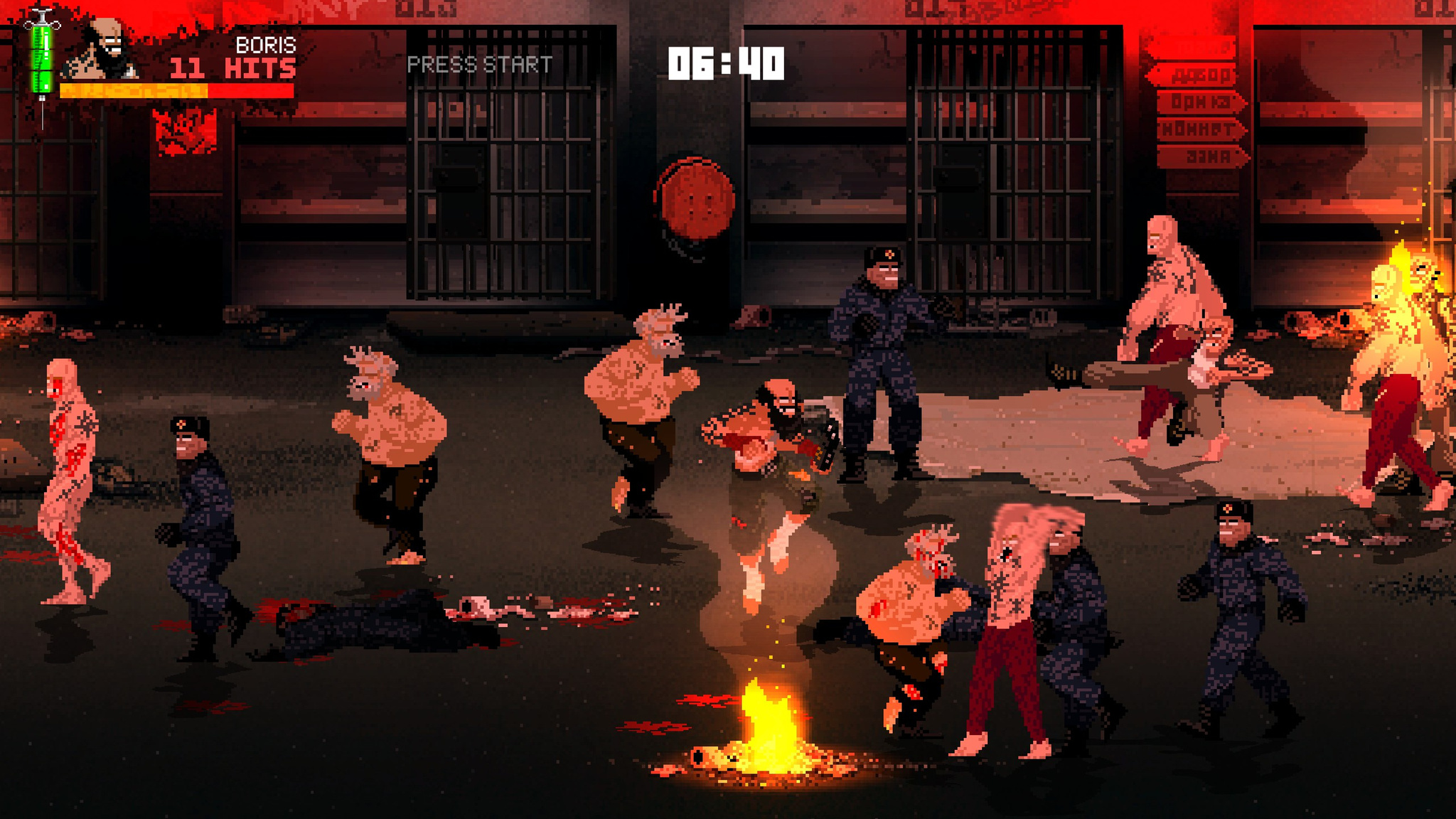 Mother Russia Bleeds for MacBook gameplay