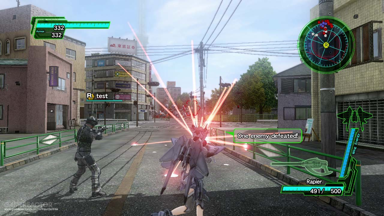 Earth Defense Force 2025 for MacBook gameplay