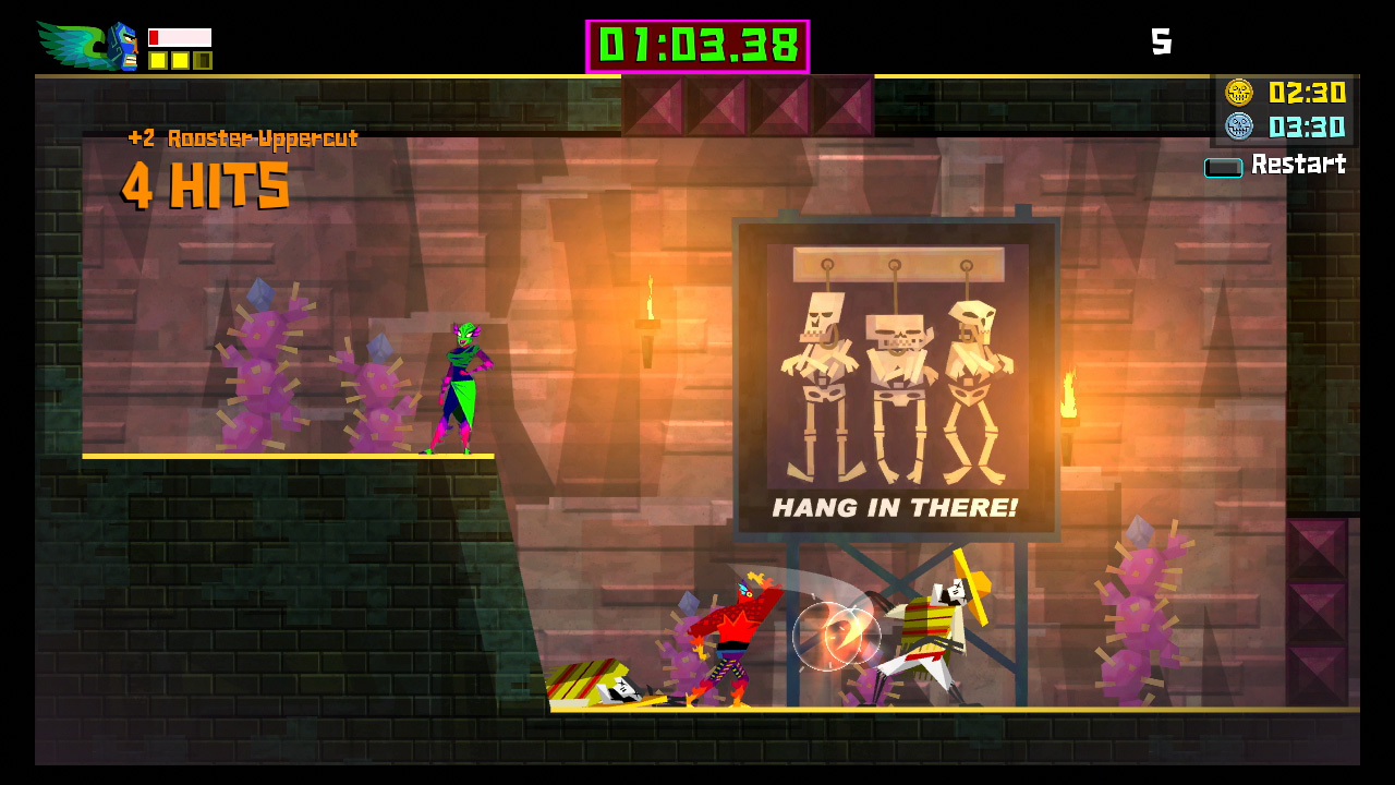 Guacamelee! for MacBook gameplay