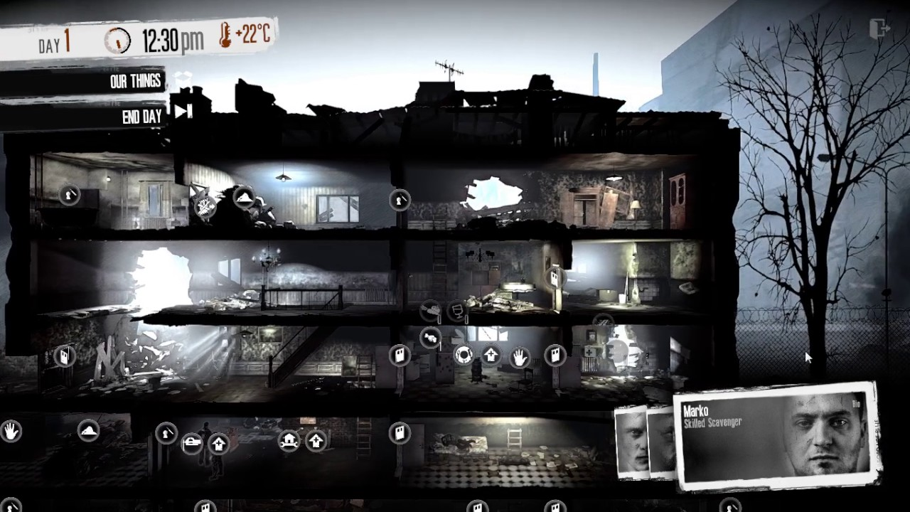 This War of Mine for macOS gameplay