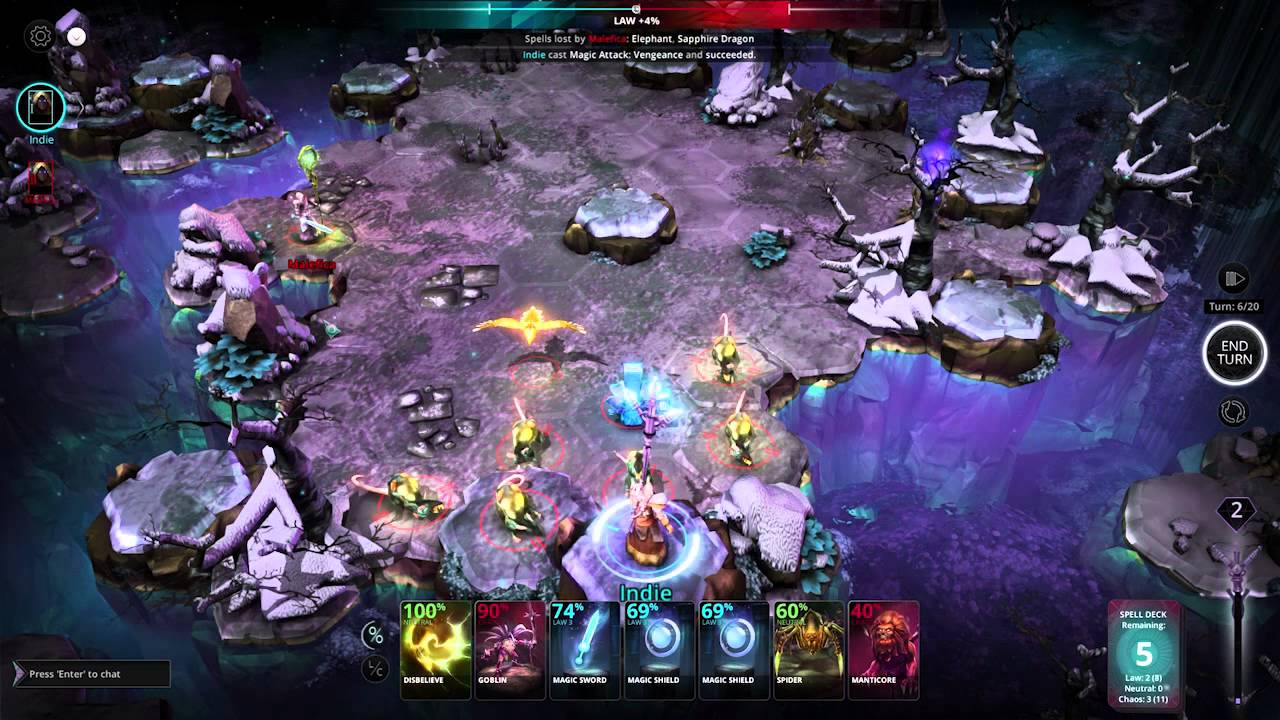 Chaos Reborn MacBook Version gameplay