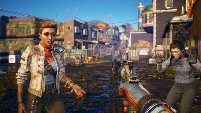 The Outer Worlds for macOS gameplay