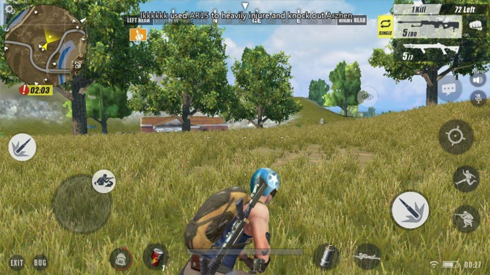 Rules of Survival for macOS gameplay