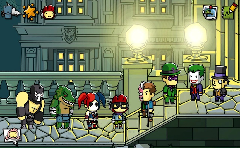 Scribblenauts Unmasked: A DC Comics Adventure for macOS gameplay