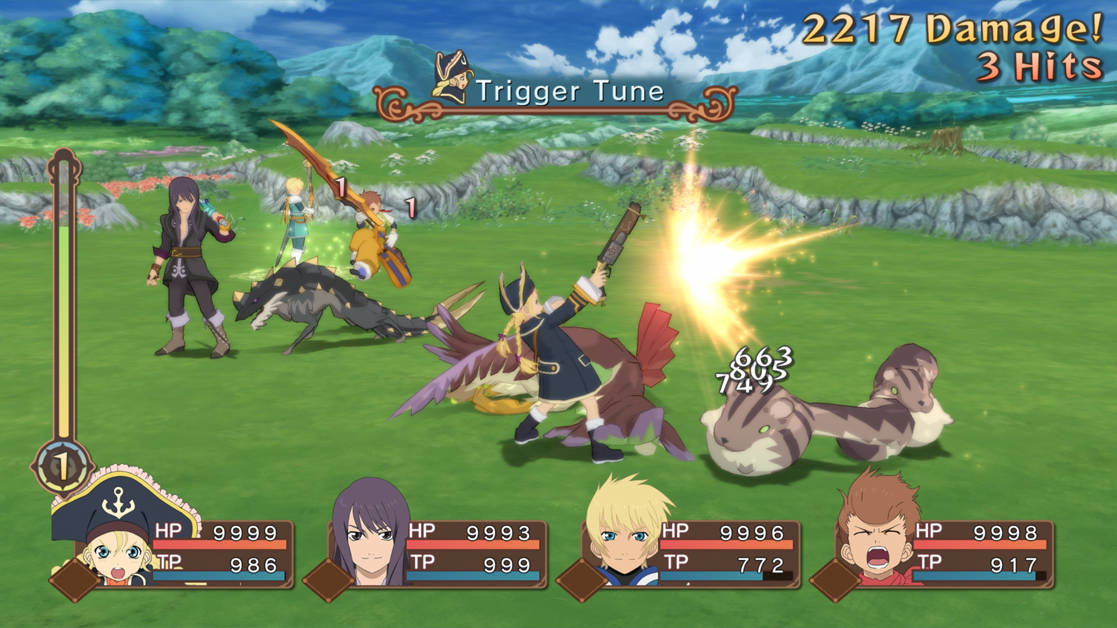 Tales of Vesperia MacBook Version gameplay