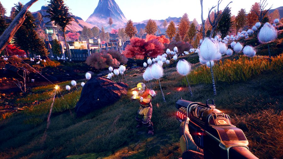The Outer Worlds MacBook Version gameplay