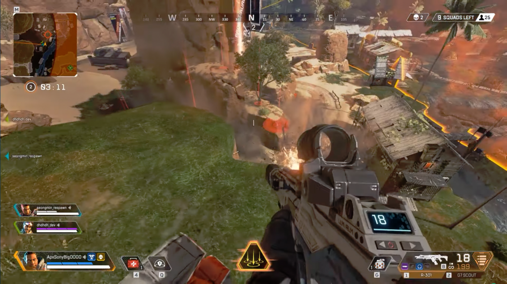 Apex Legends for MacBook gameplay
