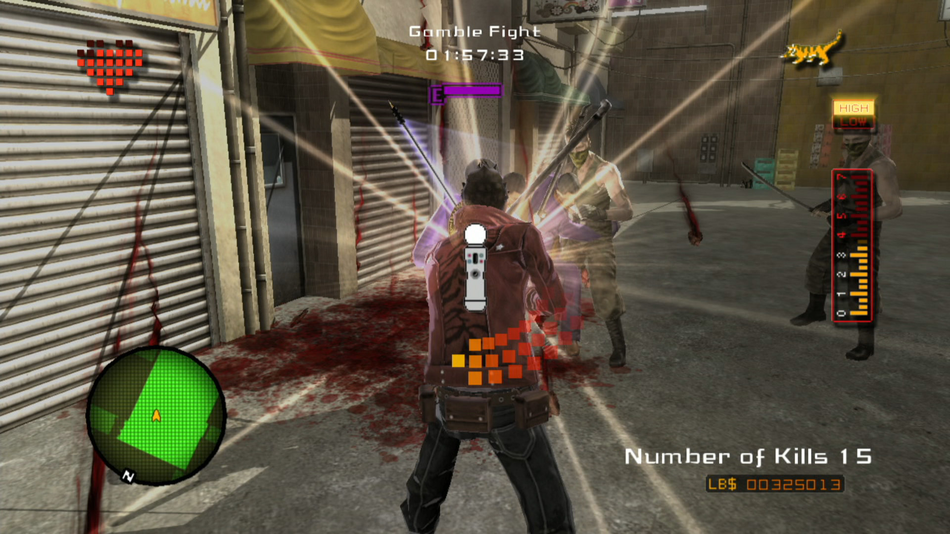 No More Heroes MacBook OS X Version gameplay