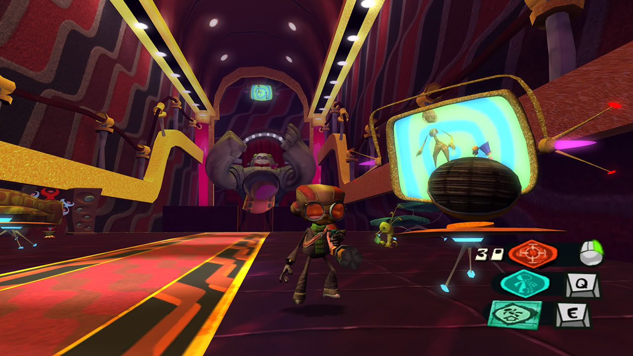 Psychonauts for macOS gameplay