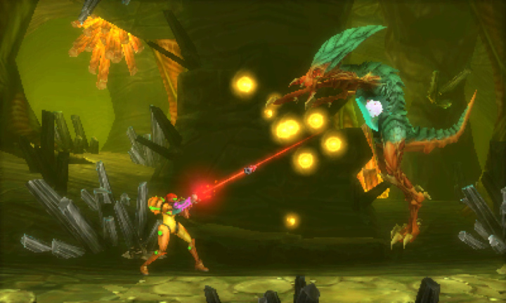 Metroid: Samus Returns MacBook Version gameplay