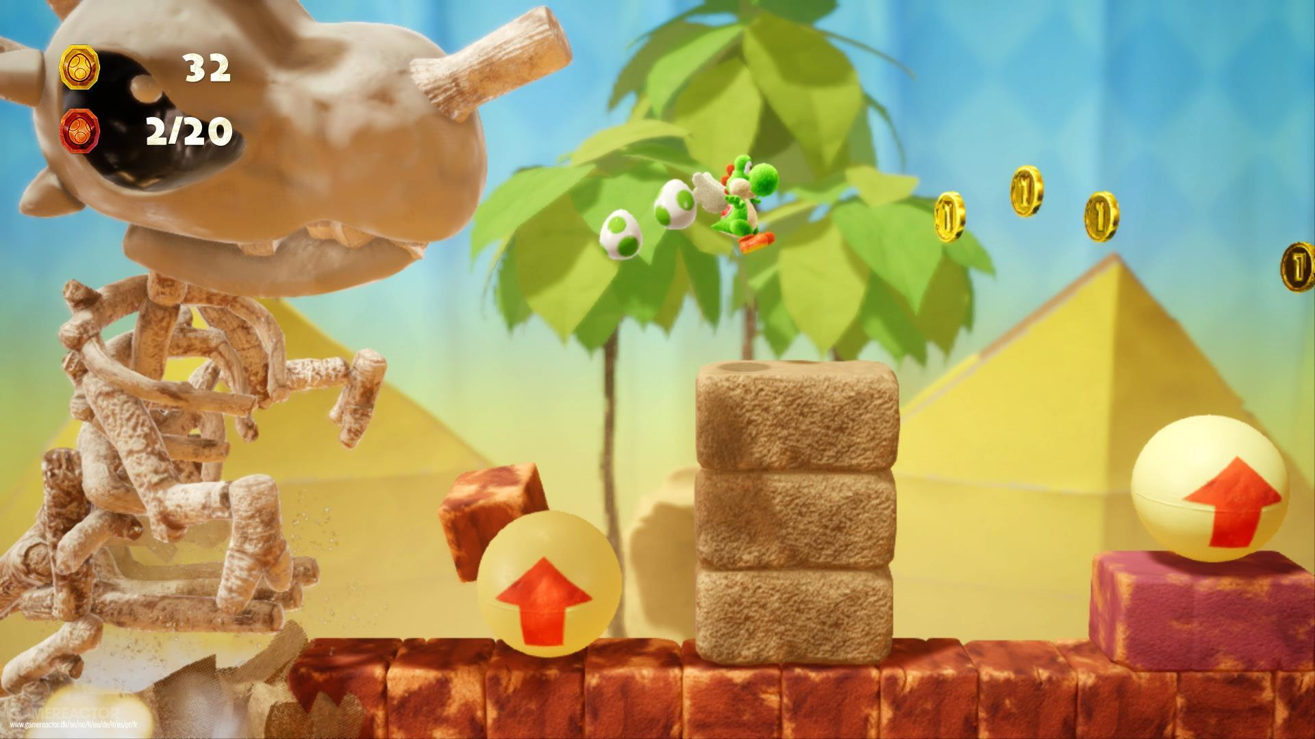 Yoshi's Crafted World for MacBook gameplay