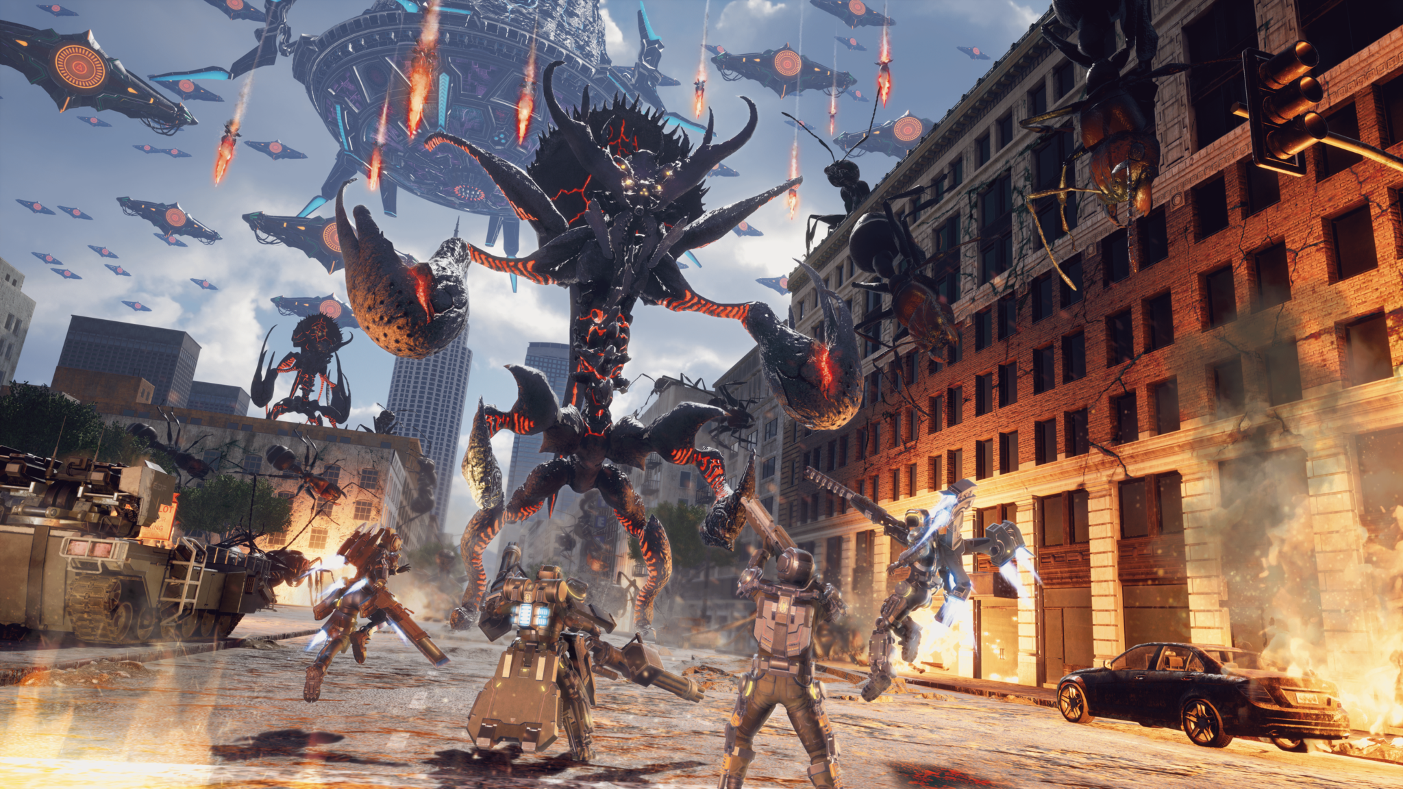 Earth Defense Force: Iron Rain for MacBook gameplay