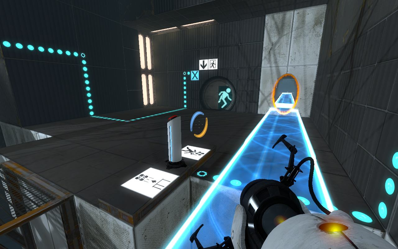 Portal 2 MacBook OS X Version gameplay